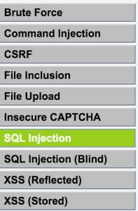 Vulnerability__SQL_Injection____Damn_Vulnerable_Web_Application__DVWA__v1_10__Development_